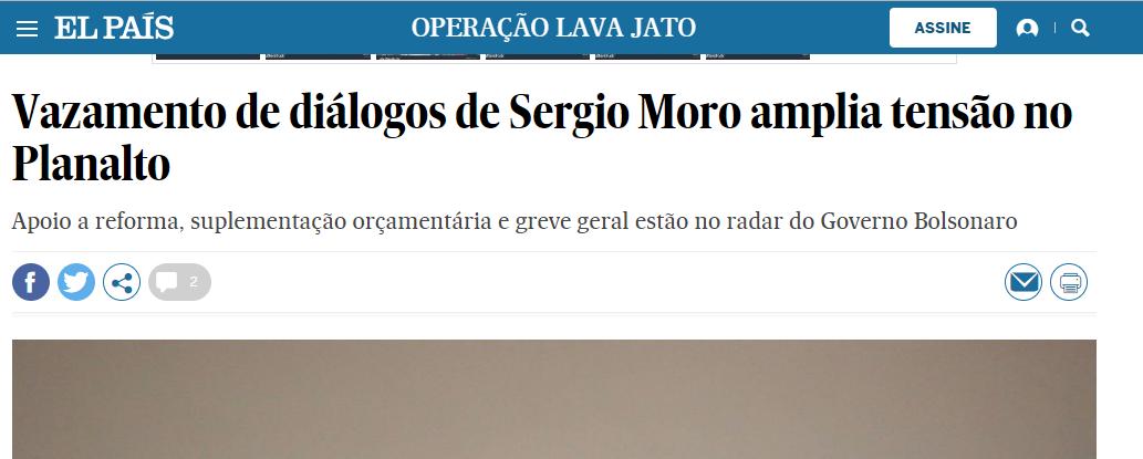 Matéria no El País